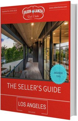 la seller's guide los angeles home for sale guide, sell your home in LA, selling home in los angeles, guide to selling home in LA