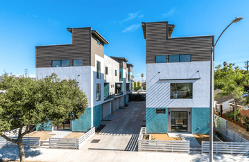 Designer homes for sale at Rivers Edge in Atwater Village, Los Angeles