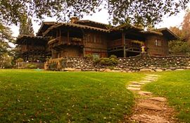 Craftsman Ultimate Bungalow Style Gamble House